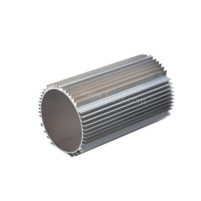 Hot sale material 6063 motor shell radiator aluminum alloy profile