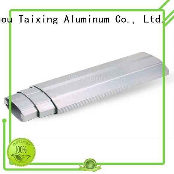 TAIXING ALUMINUM portable extruded aluminum rail telescopic gate safety door