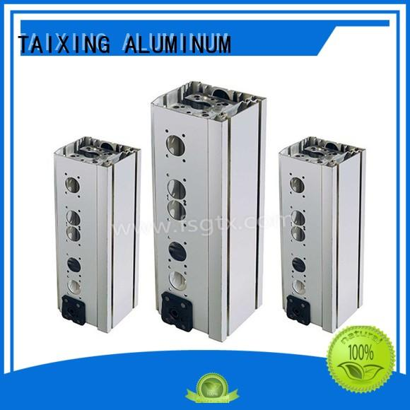 TAIXING ALUMINUM Polish advertising aluminum profiles Powder coating airport