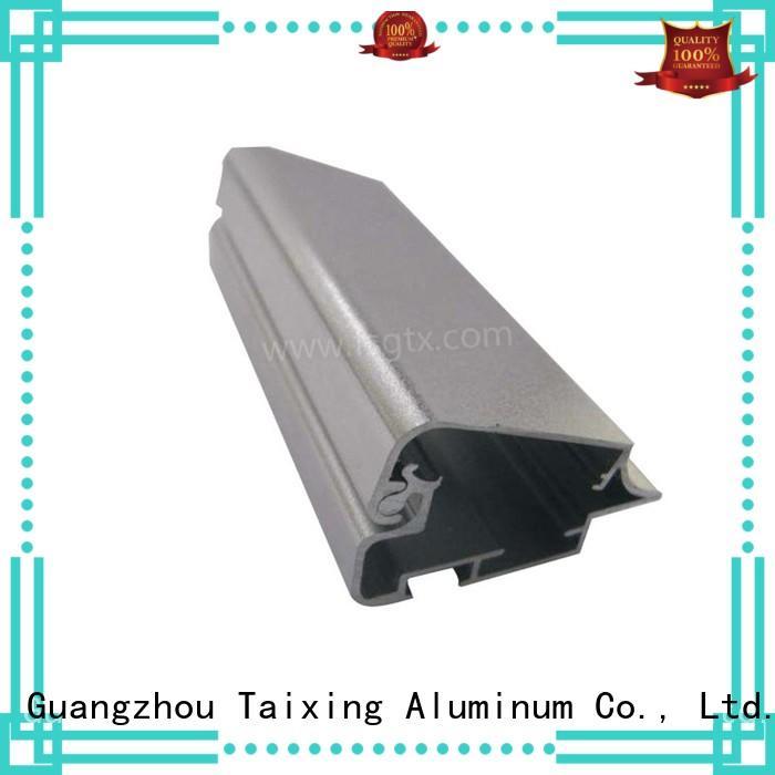 TAIXING ALUMINUM frame floor lightbox aluminium profile factory price for advertising