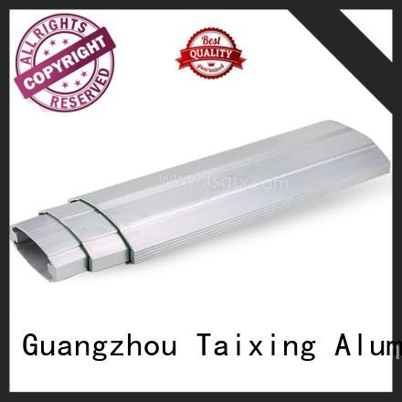 TAIXING ALUMINUM alloy extruded aluminum rail telescopic gate Retractable door