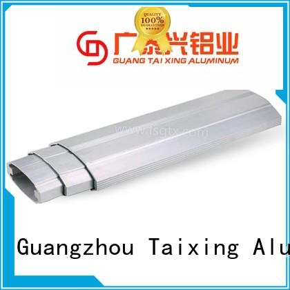 TAIXING ALUMINUM high-quality aluminium sliding doors telescopic gate safety door