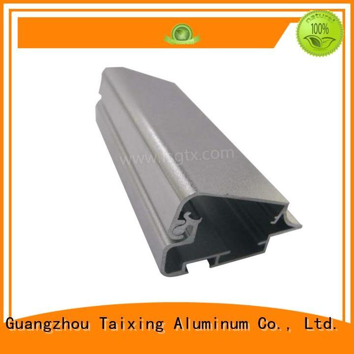 TAIXING ALUMINUM solid mesh led aluminium profile high precision for advertising board