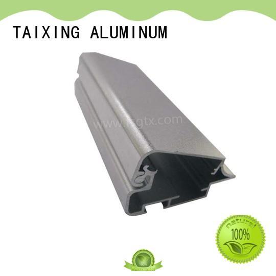 TAIXING ALUMINUM solid mesh extruded aluminum profiles for advertising