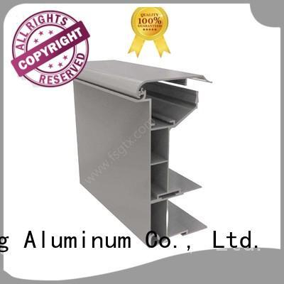 TAIXING ALUMINUM frame floor lightbox aluminium profile for advertising board