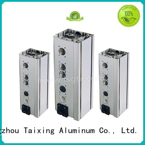 TAIXING ALUMINUM on-sale extruded aluminum triangle High Precision highway