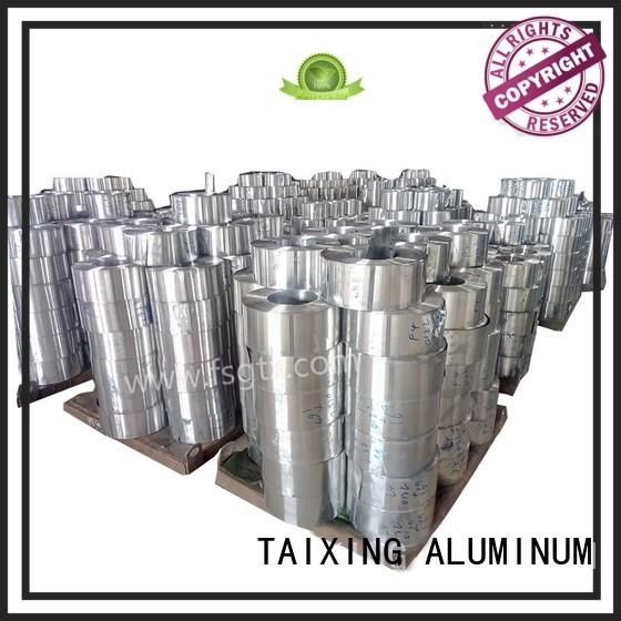 TAIXING ALUMINUM Breathable aluminum coil suppliers color coated walls