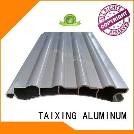 TAIXING ALUMINUM quality aluminium sliding doors Mill finish Retractable door