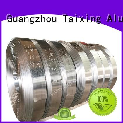 TAIXING ALUMINUM durable aluminum coil stock three sides for roofing sheet