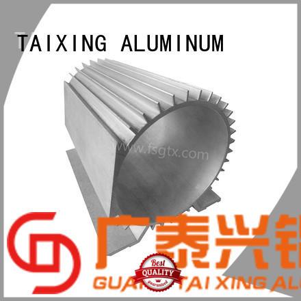 TAIXING ALUMINUM designs custom aluminum radiator Sand blasting industry