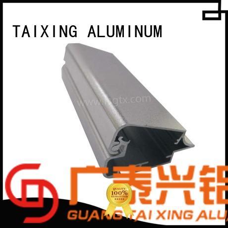TAIXING ALUMINUM frame floor lightbox aluminium profile high precision for advertising board