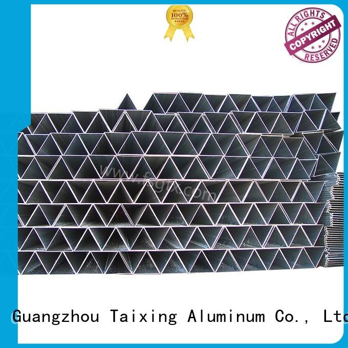 on-sale extruded aluminum triangle prism Powder coating Public