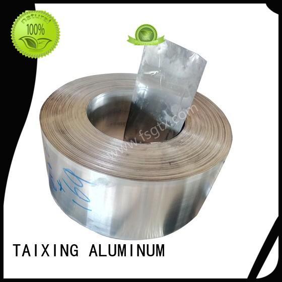 Breathable aluminum trim coil 6063 three sides walls