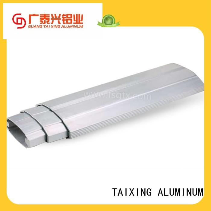 high-quality aluminum telescopic gate roller Mill finish safety door